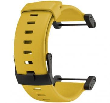 Suunto Core Yellow Rubber Armband