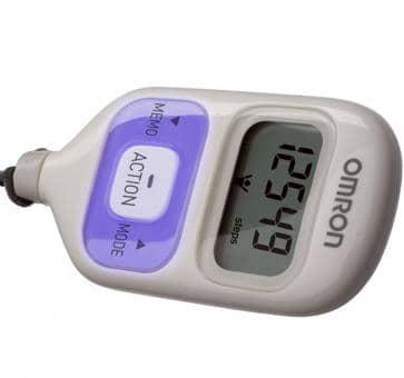 OMRON Walking Style III (HJ-203-EV) Schrittzähler violett