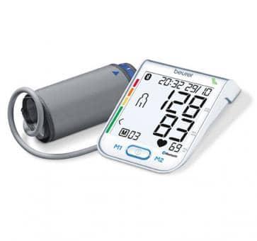 beurer BM 77 Oberarm-Blutdruckmessgerät mit Bluetooth Schnittstelle
