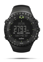 Versandrückläufer Suunto Core All Black Armbandcomputer