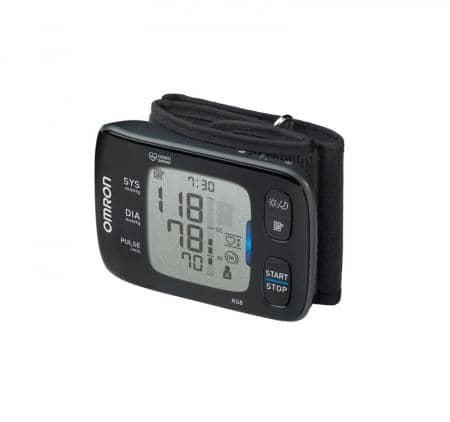 OMRON RS8 (HEM-6310F-E) Handgelenk-Blutdruckmessgerät Value Pack