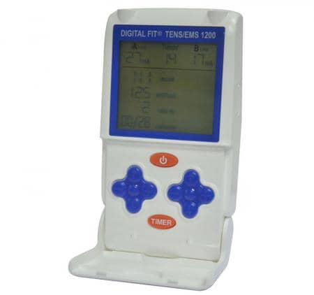 DAVITA Digital Fit TENS/EMS 1200 Elektrostimulationsgerät