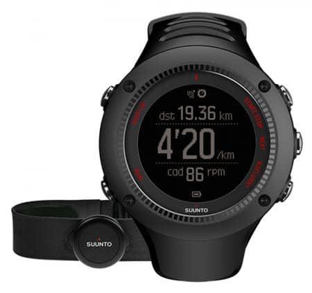 Suunto Ambit3 Run Black HR Armbandcomputer