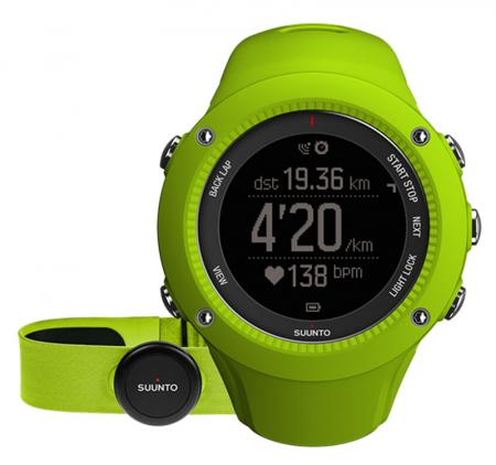 Suunto Ambit3 Run Lime HR Armbandcomputer