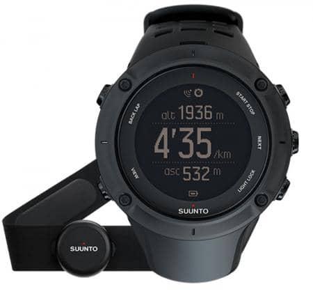 Suunto Ambit3 Peak Black (HR) Armbandcomputer