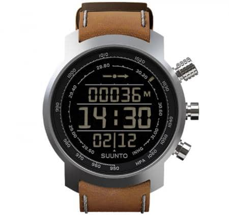 Suunto Elementum Terra Brown Leather Armbandcomputer